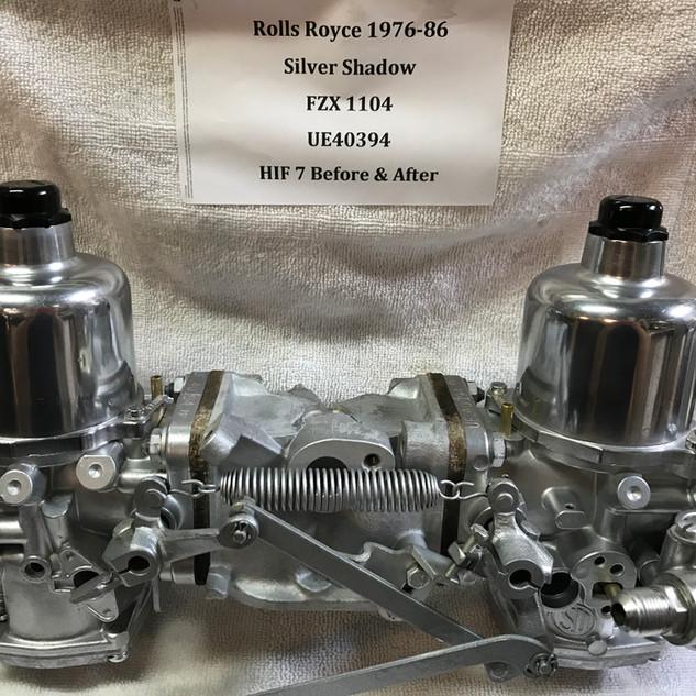 Rolls Royce Silver Shadow SU HIF7 carbur