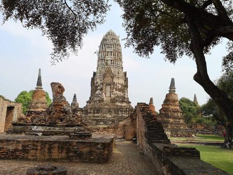 Visite des temples d'Ayutthaya - 16/01/2019