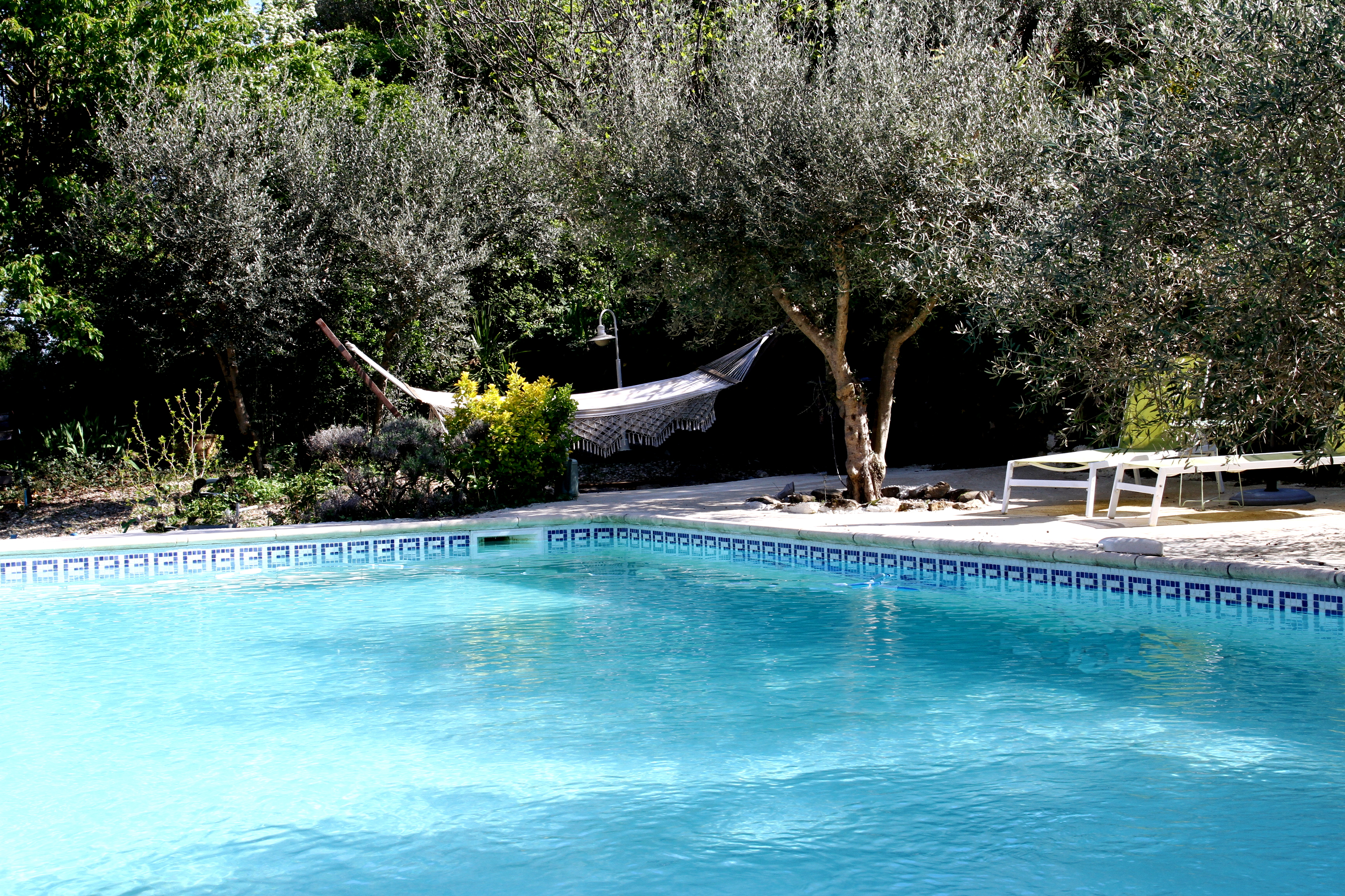 Mas de la Filoselle • La piscine