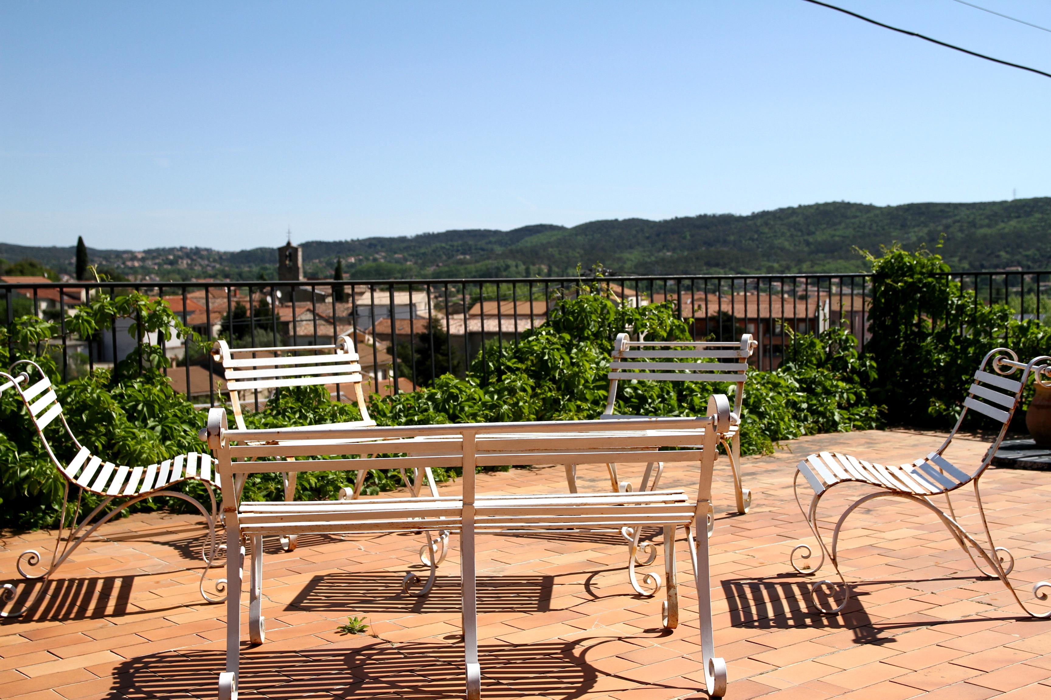 Mas de la Filoselle • La terrasse