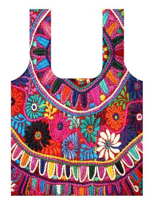 Anna Chandler Folding Shopping Bag - Circle