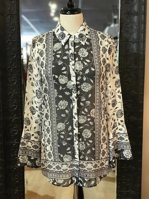 THURLEY - Sheer Shirt - Size 6