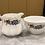 Thumbnail: Royal Tara - Vintage Milk & Sugar Bowl