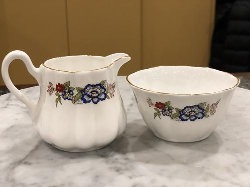 Royal Tara - Vintage Milk & Sugar Bowl