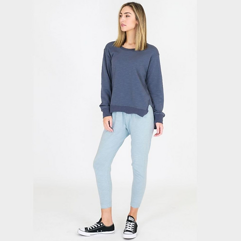 3RD STORY - Ulverstone Sweater - Steel Blue