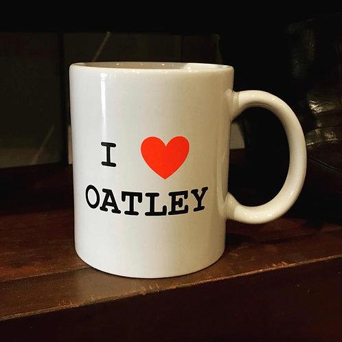 I Love Oatley Mug