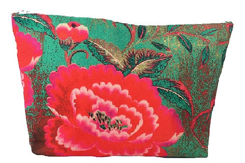 Anna Chandler - Cosmetic Bag - Chinese Peony