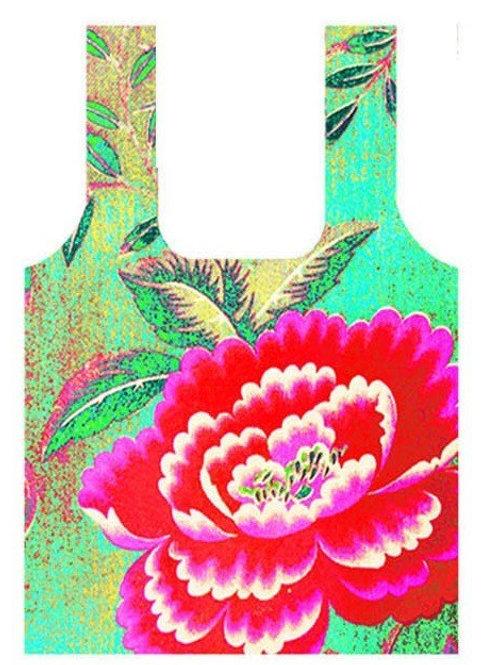 Anna Chandler Folding Shopping Bag - Chinese Peony