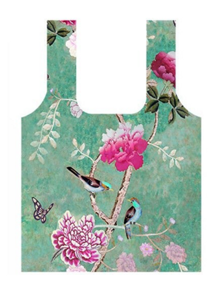Anna Chandler Folding Shopping Bag - Chinoiserie