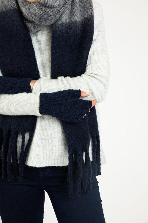 BETTY BASICS - Fingerless Gloves - Black