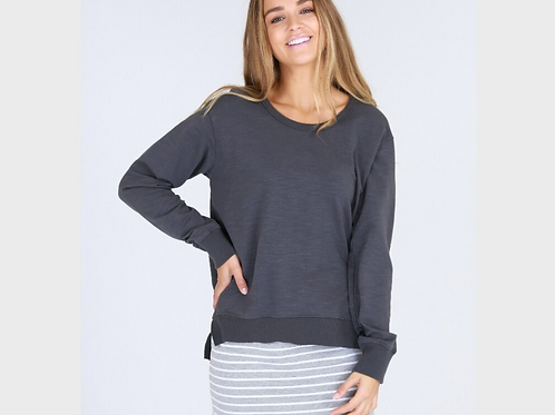 3RD STORY - Ulverstone Sweater - Charcoal