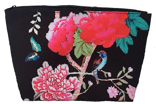 Anna Chandler - Cosmetic Bag - Black Bird