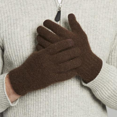 MERINO SNUG - Merino Wool Possum Gloves - Khaki
