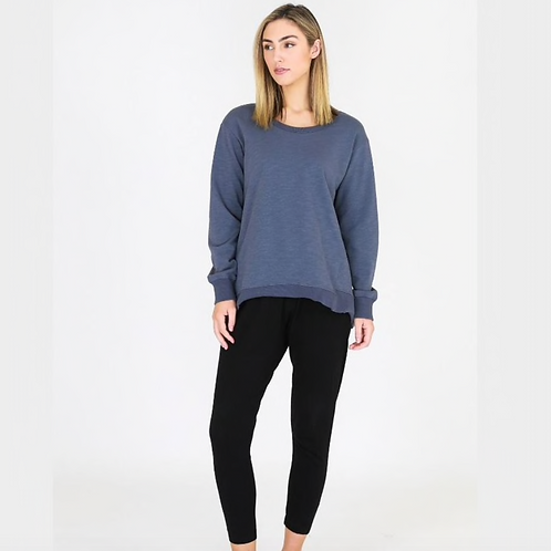 3RD STORY - Newhaven Sweater - Steel Blue