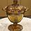 Thumbnail: Vintage Amber Indiana Carnival Glass Sugar Bowl