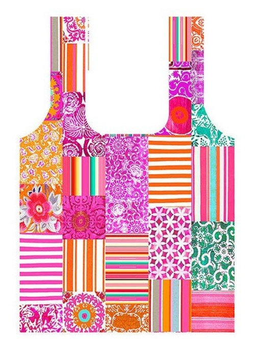 Anna Chandler Folding Shopping Bag - Summer