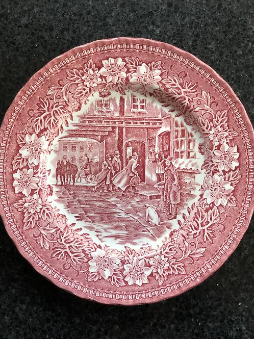 Royal Tudor Ware - Side Plate - Coaching Taverns