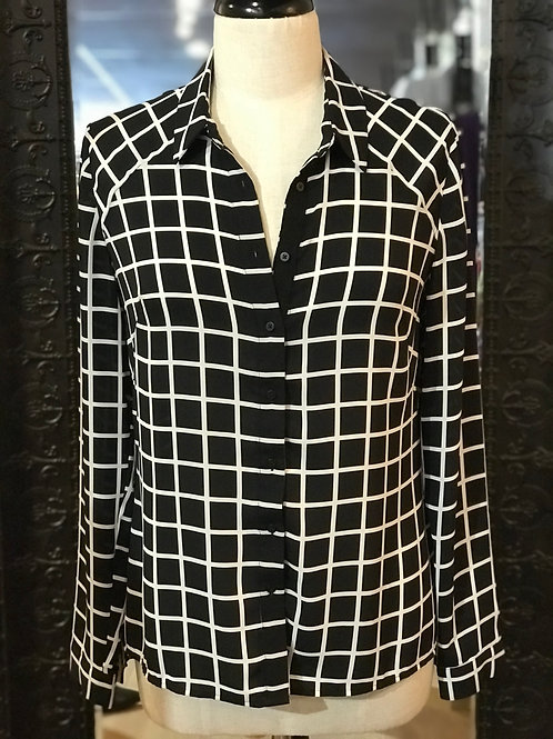 CUE CITY - Polyester Shirt - Size 8