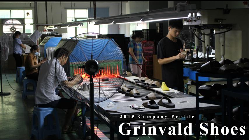 Grinvald Shoes Production Line