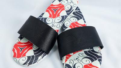 Stampa sandals