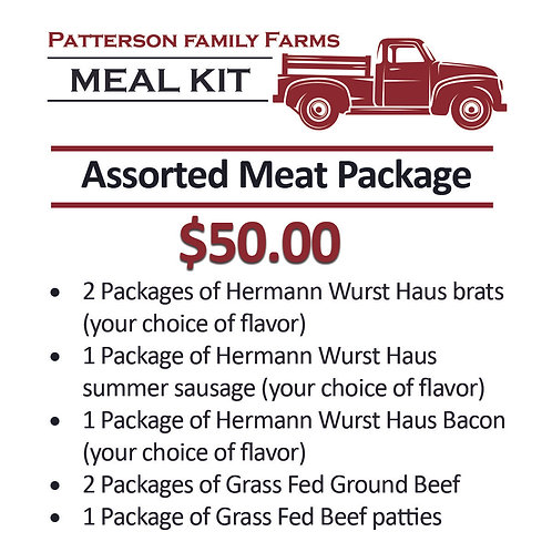 Assorted Meat Package