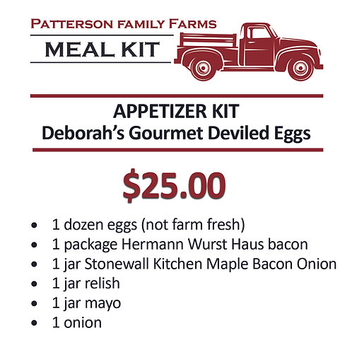 Gourmet Deviled Eggs Appetizer Kit