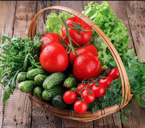 Fresh ingredients fresh produce