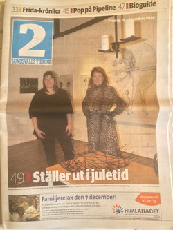 Front page Sundsvalls Tidning