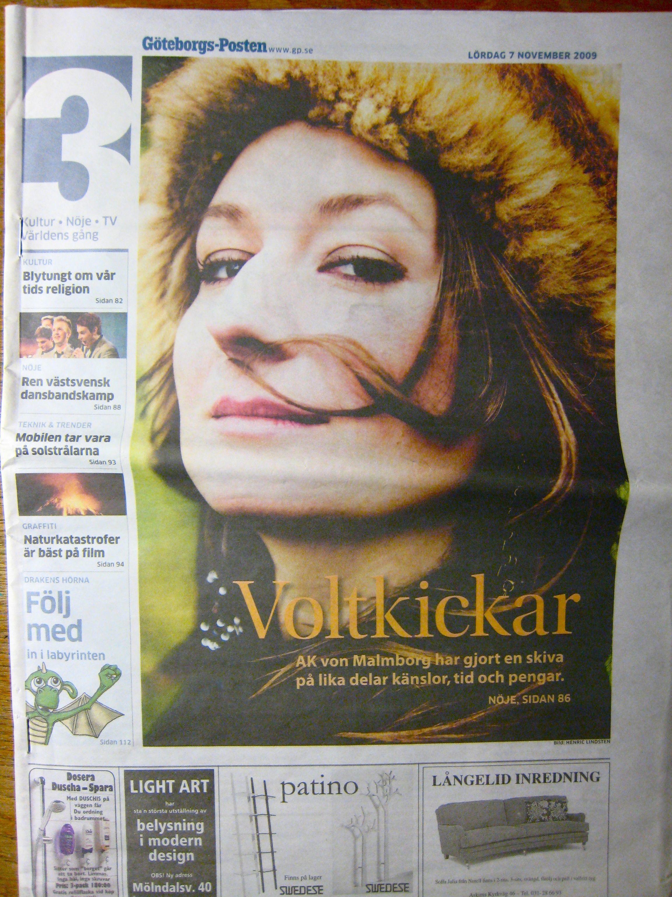 GP KULTUR Front page