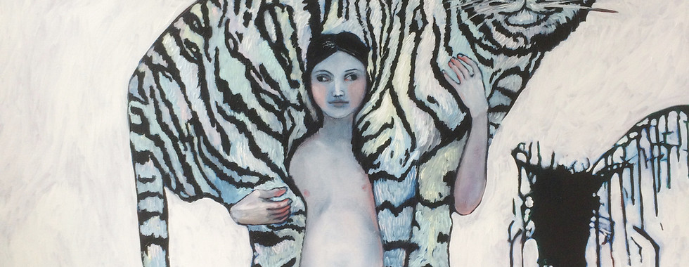 Girl with Tiger
