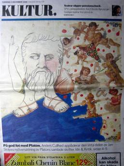 DN illustration, Platon, front page