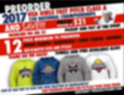 12U USA Nationals Fast Pitch Class A T-Shirt Sale