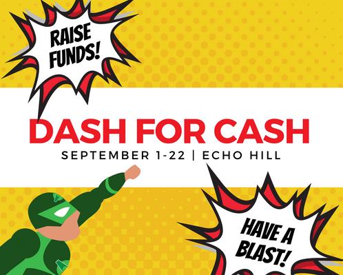 Dash For Cash | Echo Hill's biggest fundraiser of the year is underway now.