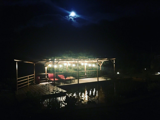 Magic Lagoon by night