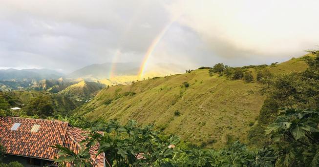 View from Cabaña Morada
