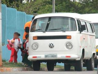 Pela 1ª vez, motorista de van pirata é mantido preso
