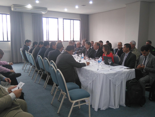 Brasil e Paraguai participam de reunião sobre transporte terrestre internacional
