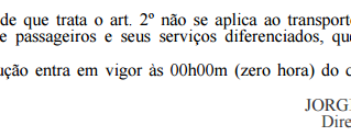 ANTT - Reajuste Tarifário - Resolução Nº 5.369 (29/06/17)