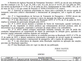 TARs autorizadas (18/05/17)