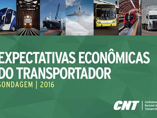 Crise afeta setor de transporte, mas há otimismo moderado para 2017