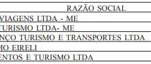 TAFs autorizadas (26 e 27/10/17)