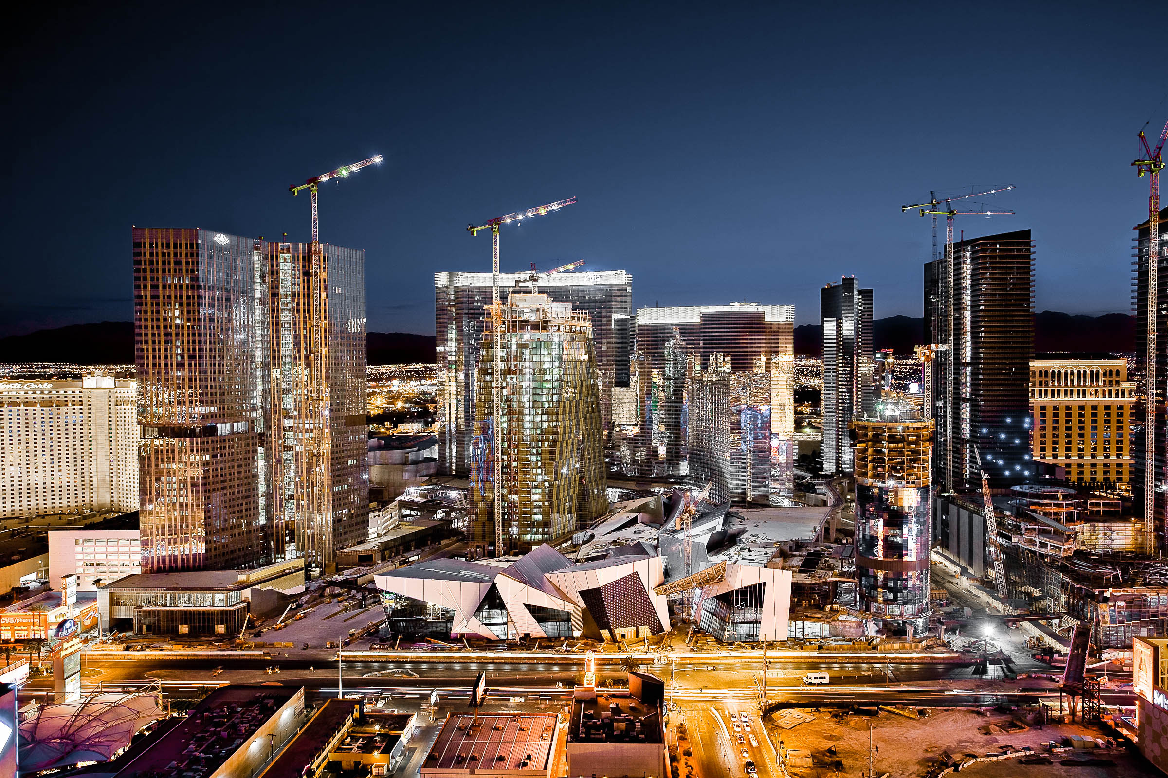 CityCenter Las Vegas Construction