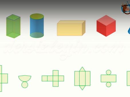 Farklı Geometrik Cisimleri Tanıyalım