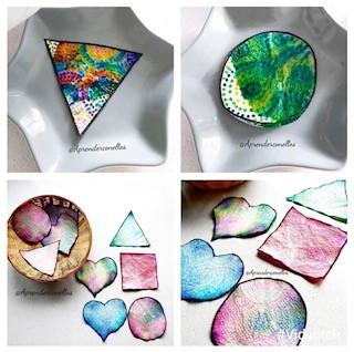 Renkli Havlu Kağıtlar