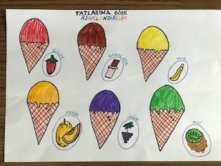 Dondurmaları Renklerdir