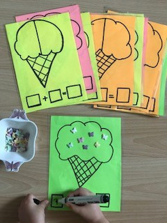 Dondurma ile toplama çıkarma