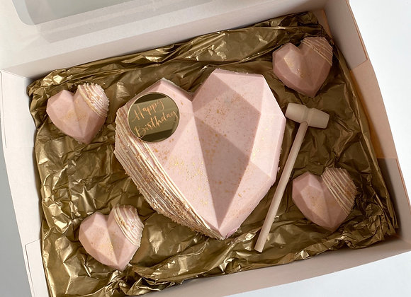 Mother's Day Smash Heart Box - Collection Only