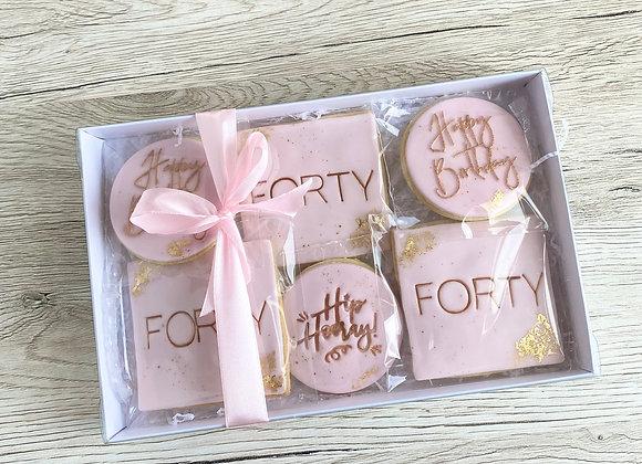Birthday Cookie Box