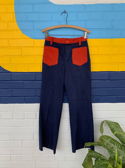 70's 2 Toned Bell Bottoms