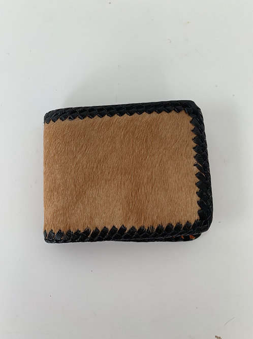 Hyde and Leather Wallet